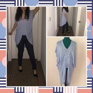 Oversized  baby blue blouse by Very J Size L
